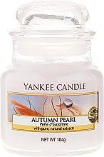 """Profumi e cosmetici Candela in barattolo di vetro """"Perla d'autunno"""" - Yankee Candle Autumn Pearl"""
