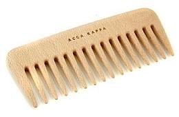 Profumi e cosmetici Pettine per capelli - Acca Kappa Small Wooden Comb