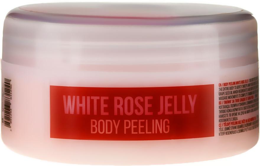 "Peeling corpo ""Rosa bianca"" - Hristina Stani Chef'S White Rose Jelly Body Peeling"