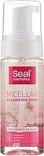 Profumi e cosmetici Schiuma micellare per pelli sensibili - Seal Cosmetics Micellar Cleansing Foam