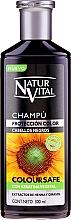 Profumi e cosmetici Shampoo per preservare il colore dei capelli tinti - Natur Vital Coloursafe Henna Colour Shampoo Black Hair