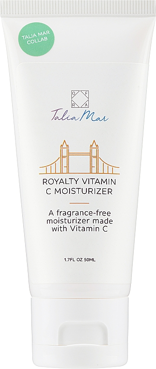 Crema viso idratante alla vitamina C - Ofra Talia Mar Royalty Vitamin C Moisturizer — foto N1