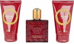 Versace Eros Flame - Set (edp/50ml + sh/gel/50ml + ash/balm/50ml) — foto N2