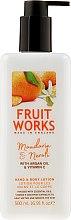 """Profumi e cosmetici Lozione mani e corpo """"Mandarino e Neroli"""" - Grace Cole Fruit Works Hand & Body Lotion Mandarin & Neroli"""