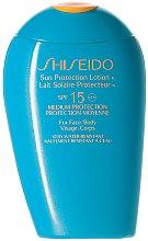 Profumi e cosmetici Lozione viso e corpo SPF 15 - Shiseido Sun Protection Lotion N SPF15