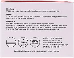 Dischi detergenti con acidi BHA - Cosrx One Step Original Clear Pads — foto N2