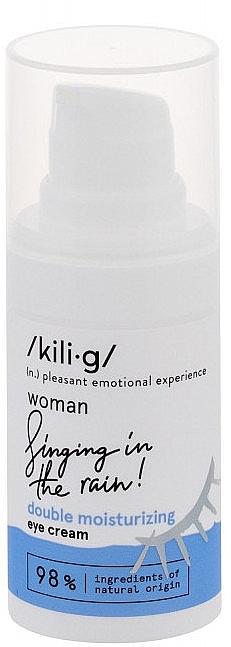 Crema contorno occhi idratante doppio effetto - Kili·g Woman Double-Effect Moisturizing Eye Cream