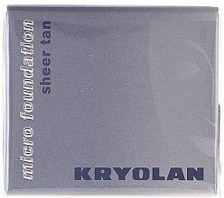 Profumi e cosmetici Fondotinta-mousse impermeabile - Kryolan HD Micro Foundation Sheer Tan