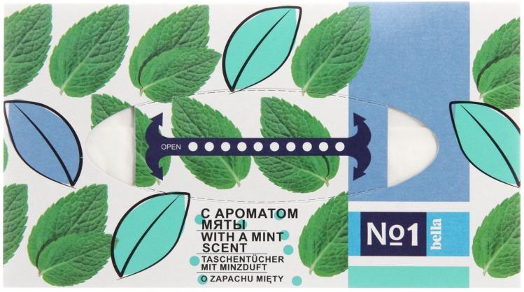Salviette asciutte universali con aroma di menta - Bella Mint Wipes