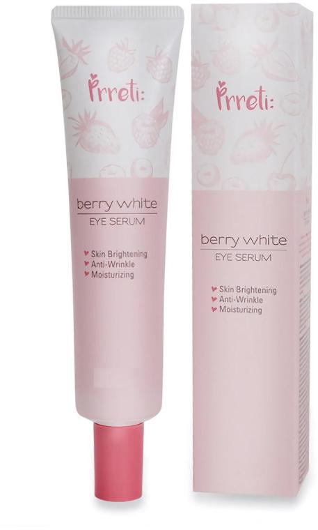 Siero schiarente contorno occhi - Prreti Berry White Eye Serum