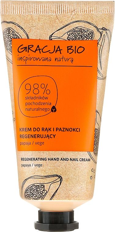 Crema rigenerante per mani e unghie - Gracja Bio Regenerating Hand And Nail Cream
