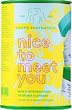 Profumi e cosmetici Set - Drunk Elephant Nice to Meet You (cr/15ml + clean/22g + boost/1g)