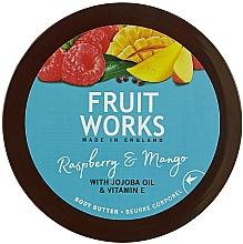 "Profumi e cosmetici Burro corpo ""lampone e mango"" - Grace Cole Fruit Works Body Butter Raspberry & Mango"