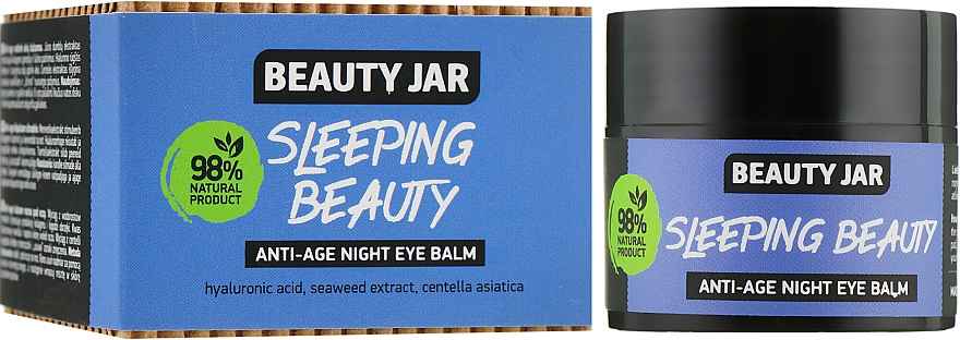 "Balsamo occhi antietà ""Sleeping Beauty"" - Beauty Jar Anti-Age Night Eye Balm"