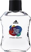 Profumi e cosmetici Adidas Team Five - Lozione dopobarba