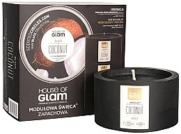 Profumi e cosmetici Candela profumata - House of Glam Black Coconut Candle