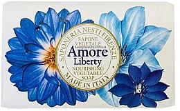 Profumi e cosmetici Sapone al profumo di bergamotto, vetiver e giglio di mare - Nesti Dante Amore Liberty Nourishing Vegetable Soap
