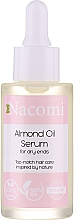 Profumi e cosmetici Siero per capelli con olio di mandorle dolci - Nacomi Natural With Sweet Almond Oil Serum