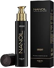Profumi e cosmetici Olio per capelli a media porosità - Nanoil Hair Oil Medium Porosity