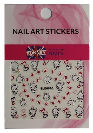 Adesivi per nail art - Ronney Professional Nail Art Stickers (1pz)