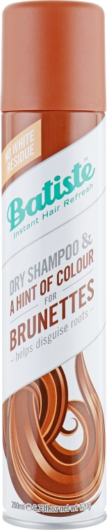 Shampoo secco - Batiste Dry Shampoo Medium and Brunette a Hint of Colour