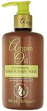 Profumi e cosmetici Sapone liquido con olio di argan - Xpel Marketing Ltd Argan Oil Moisturizing Hand Body Wash