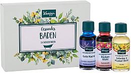 Profumi e cosmetici Set - Kneipp (bath/oil/20mlx3)