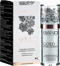 Profumi e cosmetici Booster peptidi antirughe - Bandi Professional Gold Philosophy Wrinkle Reducing Peptide Booster