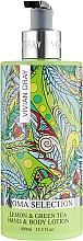 """Profumi e cosmetici Lozione per mani e corpo """"Limone e tè verde"""" - Vivian Gray Aroma Selection Lemon & Green Tea Hand & Body Lotion"""