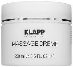 Profumi e cosmetici Crema da massaggio - Klapp Massage Creame