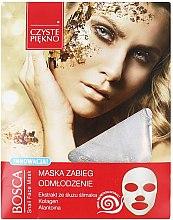 Profumi e cosmetici Maschera viso con estratto di lumaca - Czyste Piekno Bosca Snail Face Mask