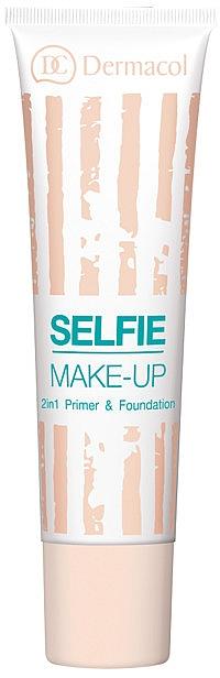 Base trucco e fondotinta 2 in 1 - Dermacol Selfie Make-up 2-in-1 Primer & Foundation — foto N1