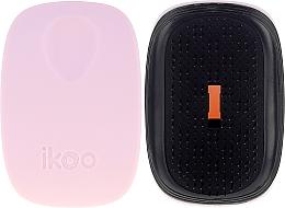 Profumi e cosmetici Spazzola per capelli - Ikoo Pocket Black Cotton Candy