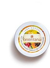 "Profumi e cosmetici Crema-peeling viso ""Papaya"" - Orientana Natural Cream Face Scrub Papaya"