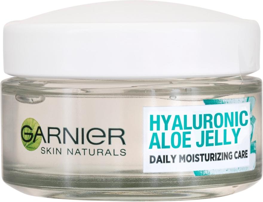 Crema idratante con texture in gel - Garnier Skin Naturals Hyaluronic Aloe Jelly Cream