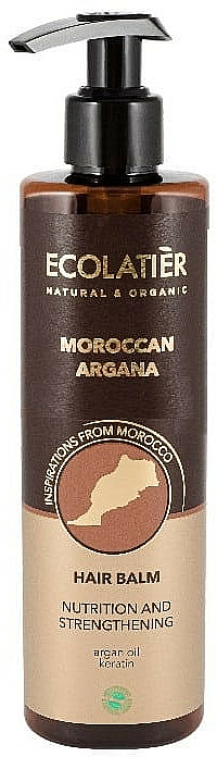 """Balsamo per capelli """"Argan marocchino"""" - Ecolatier Moroccan Argana Hair Balm"""