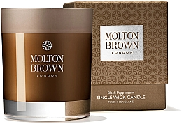 Profumi e cosmetici Molton Brown Black Peppercorn Single Wick Candle - Candela a stoppino singolo