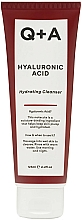Profumi e cosmetici Gel detergente idratante all'acido ialuronico - Q+A Hyaluronic Acid Hydrating Cleanser