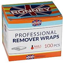 Profumi e cosmetici Pellicola per rimuovere lo smalto gel - Ronney Professional Remover Wraps