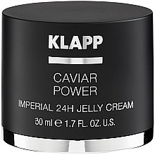 "Profumi e cosmetici Crema ""Caviar Energy Imperial"" - Klapp Caviar Power Imperial 24H Jelly Cream"