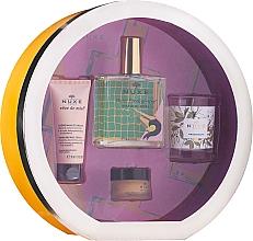 Profumi e cosmetici Set - Nuxe Culte Prodigieux Box (oil/100ml + h/cr/30ml + lip/balm/15ml + candle)