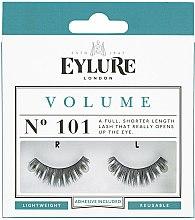 Profumi e cosmetici Ciglia finte N.101 con cola - Eylure Volume False Eyelashes N.101