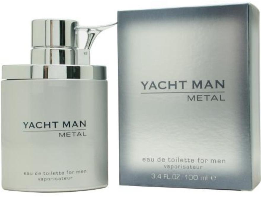 Myrurgia Yacht Man Metal - Eau de toilette  — foto N2
