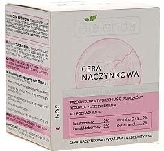 Profumi e cosmetici Crema viso per la pelle capillare da notte - Bielenda Capillary Skin Face Cream