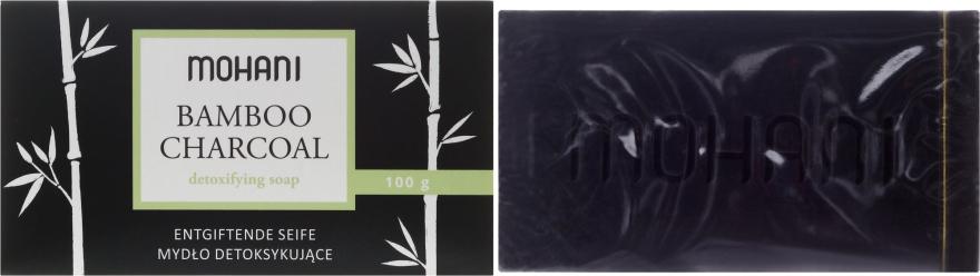 Sapone disintossicante al carbone di legna di bambù - Mohani Bamboo Charcoal Detoxifying Soap