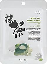 Profumi e cosmetici Maschera viso con estratto di tè verde - Mitomo Green Tea Essence Mask