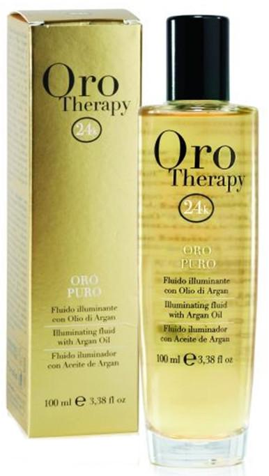 Fluido con olio di argan - Fanola Oro Therapy Fluido Oro Puro