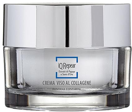 Crema viso al collagene - Fontana Contarini iQ Repair Collagen Face Cream