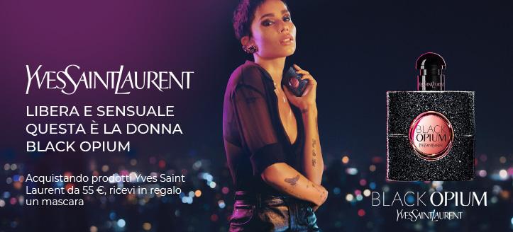 Acquistando prodotti Yves Saint Laurent da 55 €, ricevi in regalo un mascara Im The Clash