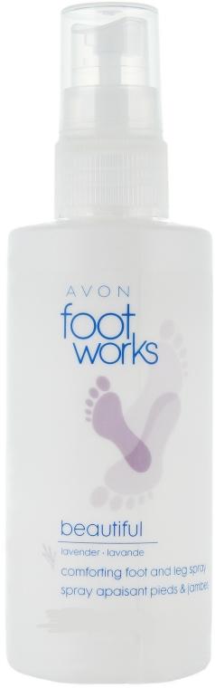 Spray deodorante rinfrescante per i piedi con estratto di lavanda - Avon Foot Works Deodorising Spray
